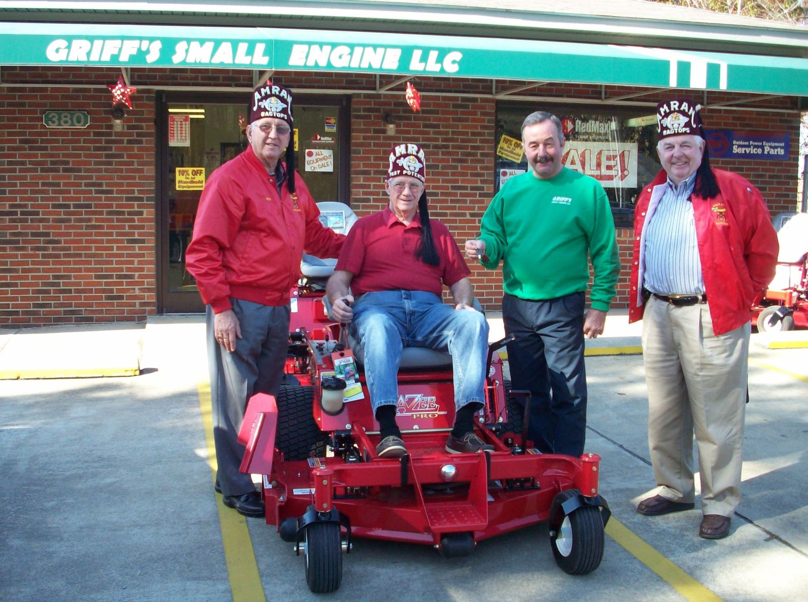 Country Clipper - Shriners Hospital Mower Donation