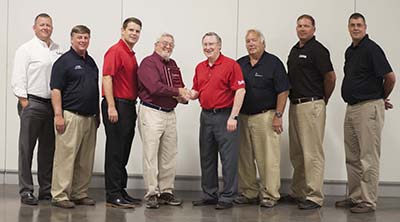 Country Clipper Presents Distributor of the Year Award to Conniff Sales, Inc., 2nd Year in a Row
