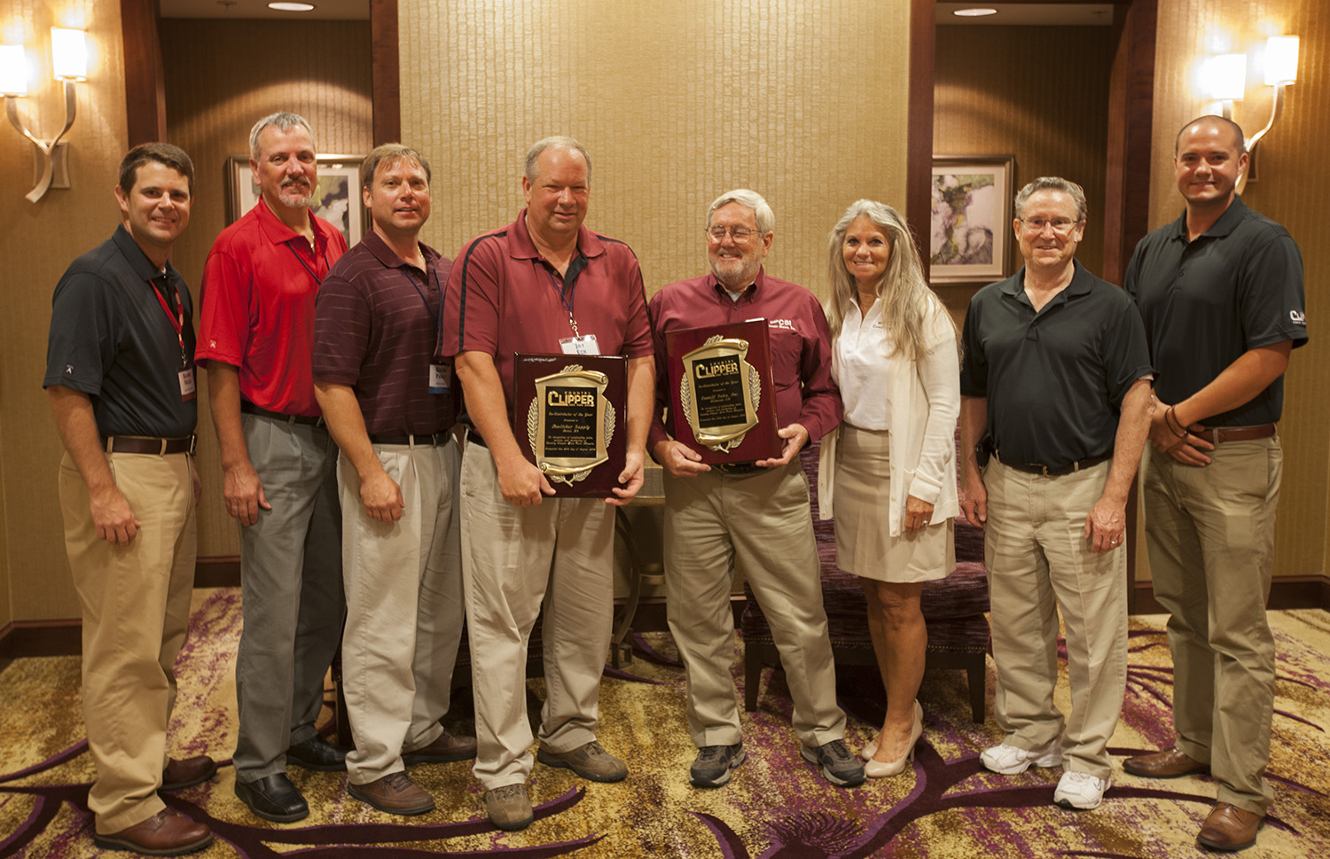 BOETTCHER SUPPLY, CONNIFF SALES INC. Honored as Country Clipper Distributors of the Year at Conference