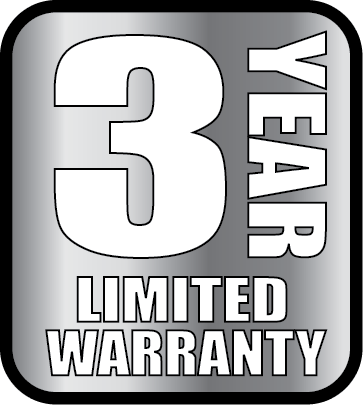 3 year residential limited warranty